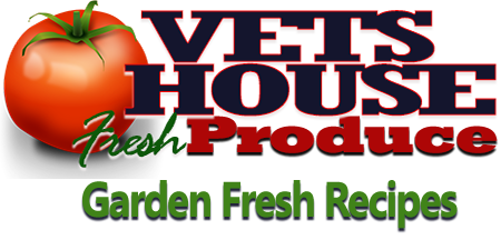 Vets House Produce Recipes
